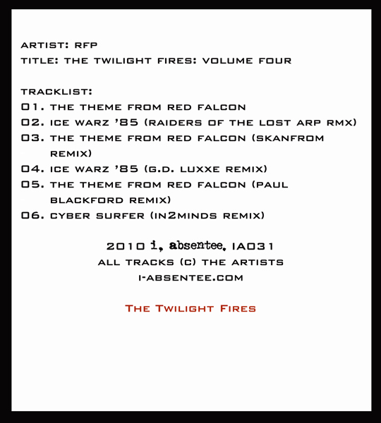The Twilight Fires: Volume Four - Inside